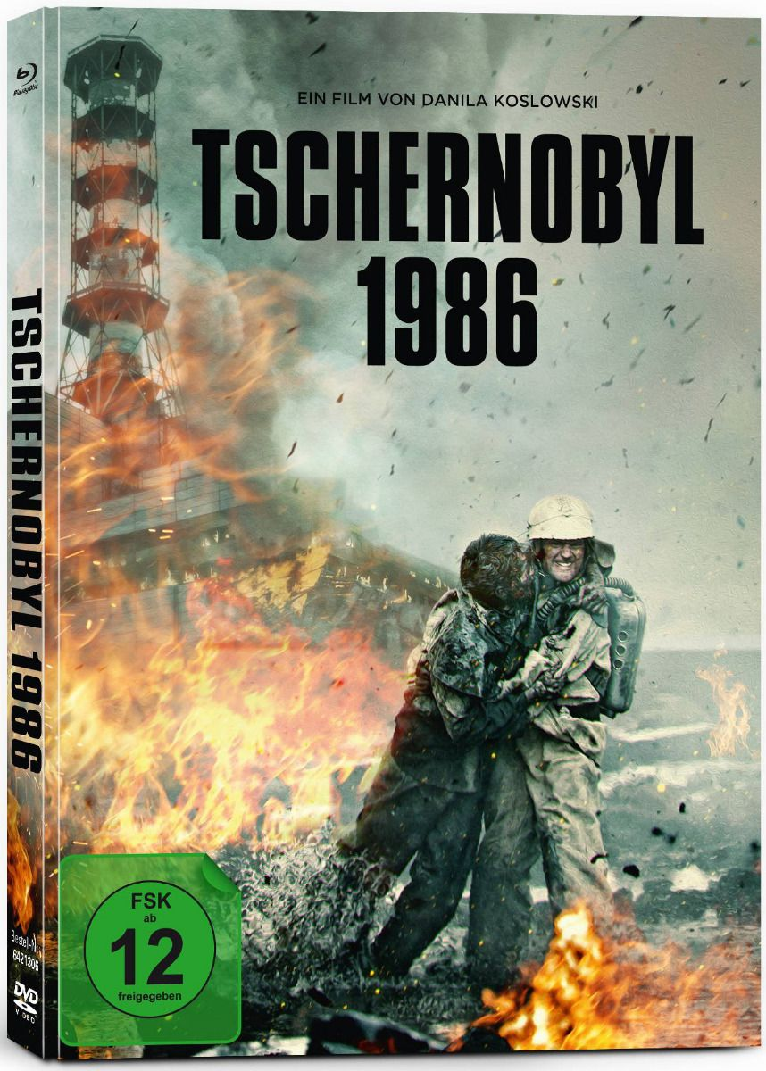 Tschernobyl 1986 (Lim. Uncut Mediabook) (DVD + BLURAY)