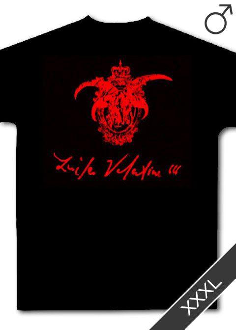 Kingdom of Hell / Lucifer Valentine (Vomit Gore) T-Shirt (schwarz, Größe: XXXL)