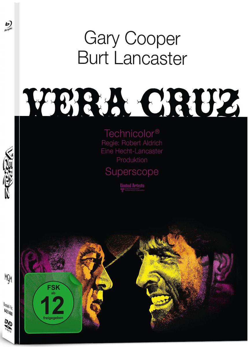 Vera Cruz (Lim. Uncut Mediabook) (DVD + BLURAY)