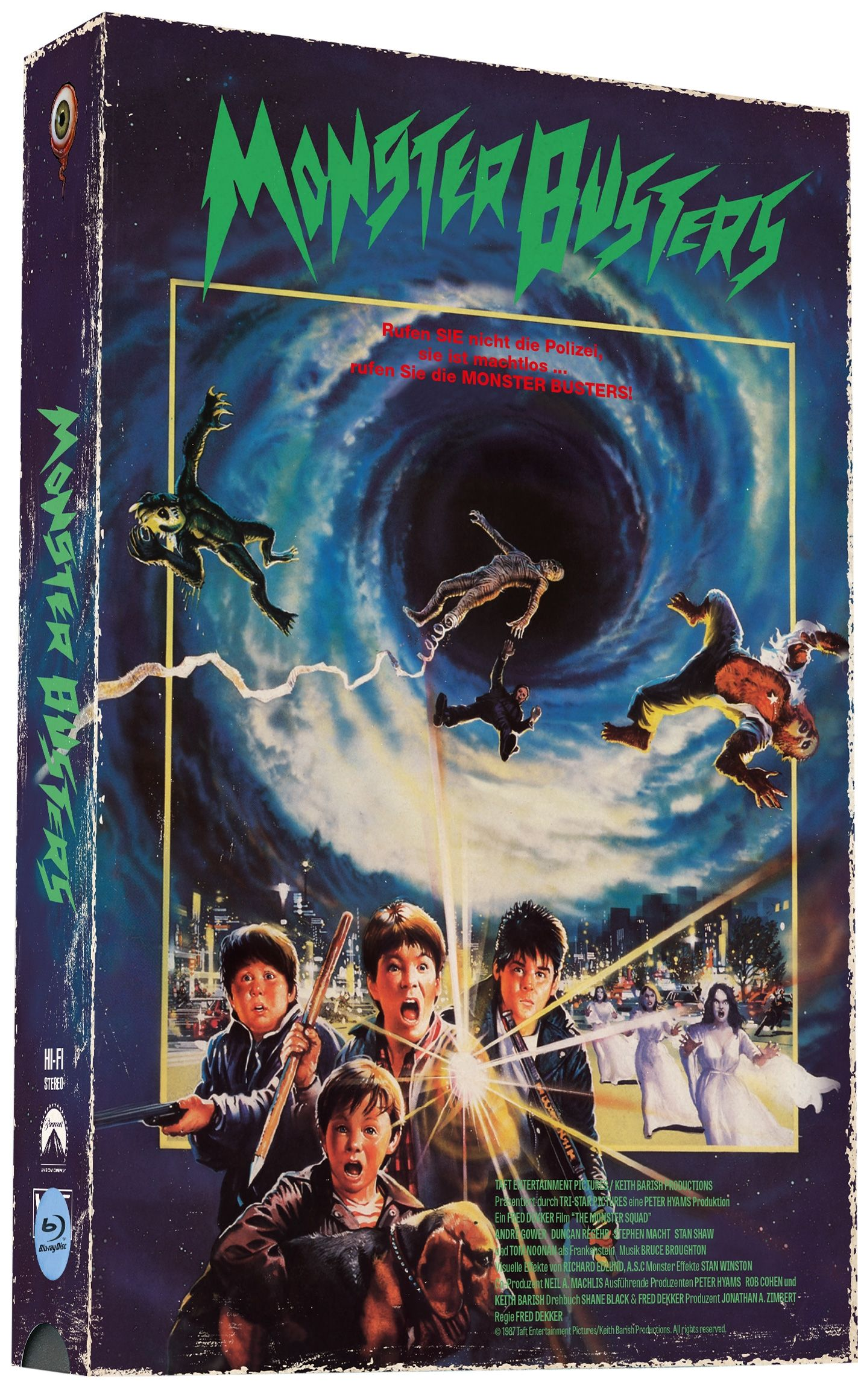 Monster Busters (Lim. VHS-Design Edition - Cover A) (DVD + BLURAY)