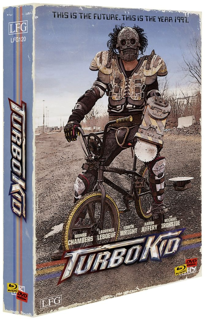 Turbo Kid (Lim. VHS-Design Edition - Cover B) (5 Discs) (DVD + BLURAY)