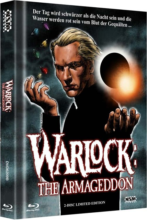 Warlock - The Armageddon (Lim. Uncut Mediabook - Cover B) (DVD + BLURAY)