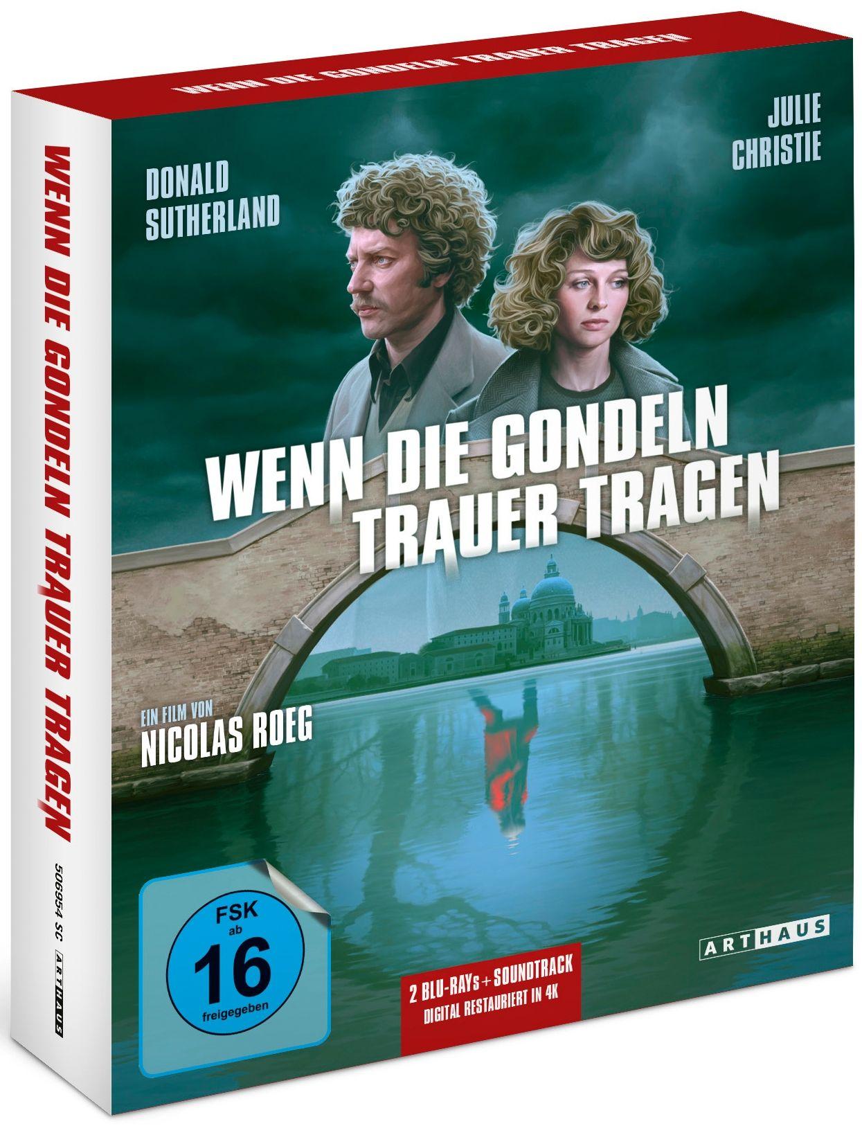 Wenn die Gondeln Trauer tragen (Lim. Soundtrack Edition) (4K Remastered) (3 Discs) (BLURAY)