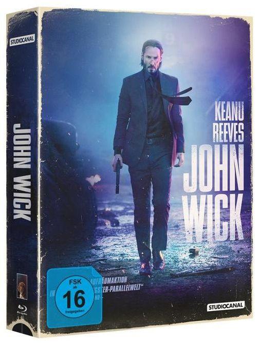 John Wick (Lim. Uncut Tape Edition) (BLURAY)