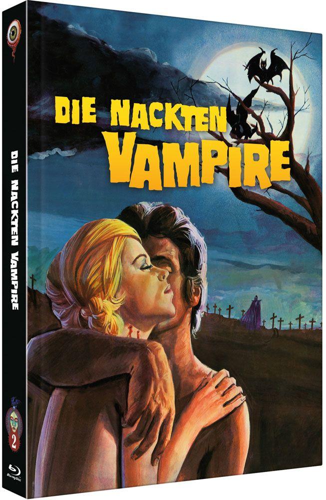 Nackten Vampire, Die (Lim. Uncut Mediabook - Cover B) (DVD + BLURAY)