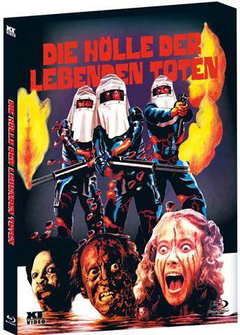 Hölle der lebenden Toten, Die (BLURAY)