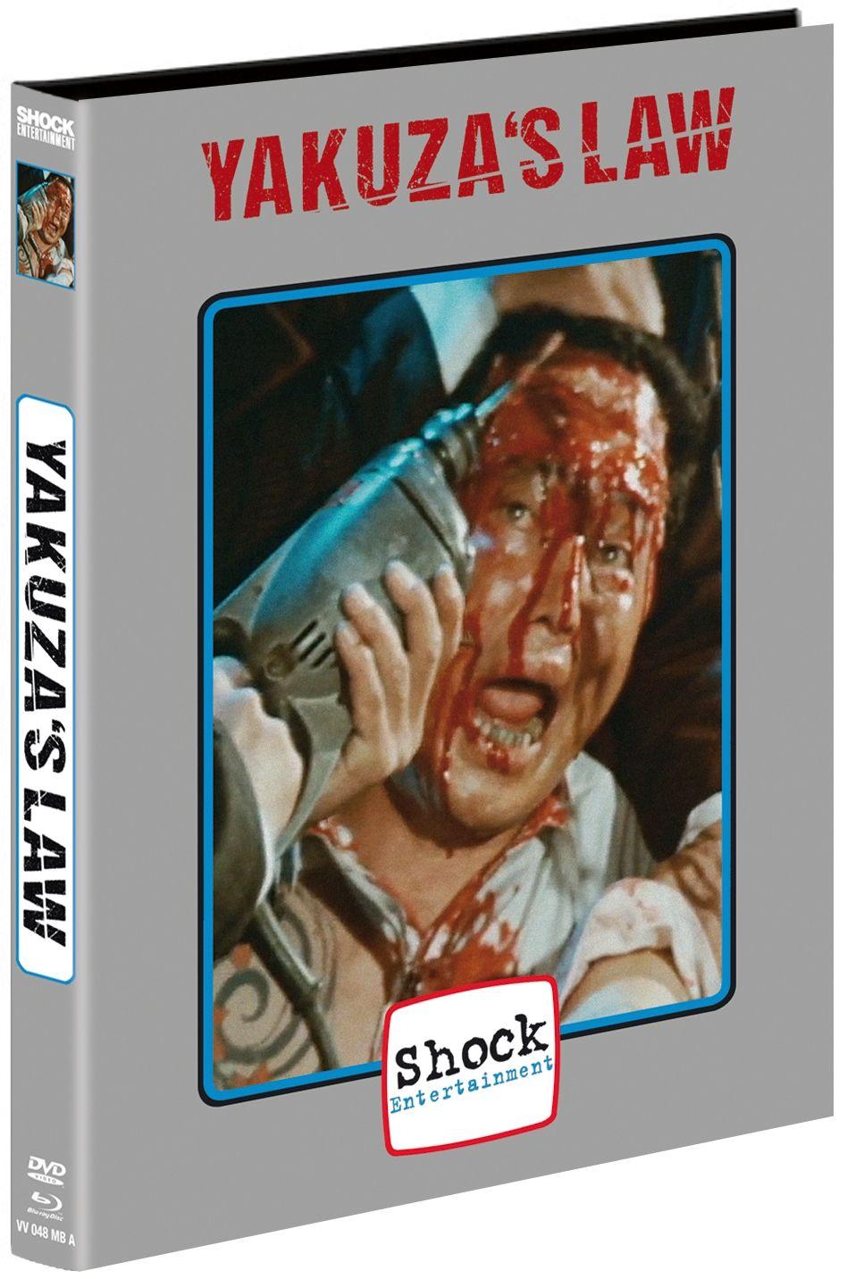 Yakuza's Law (Lim. Uncut Mediabook - Cover A) (DVD + BLURAY)