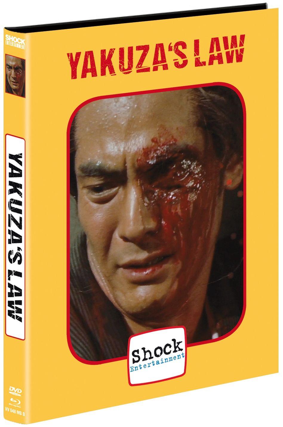 Yakuza's Law (Lim. Uncut Mediabook - Cover B) (DVD + BLURAY)