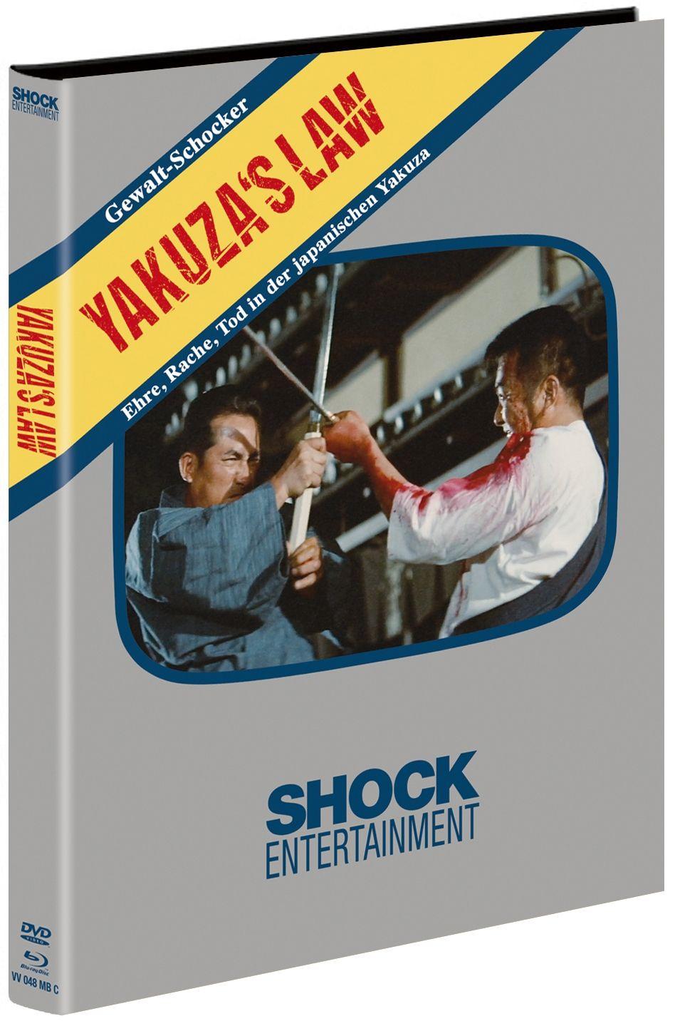 Yakuza's Law (Lim. Uncut Mediabook - Cover C) (DVD + BLURAY)